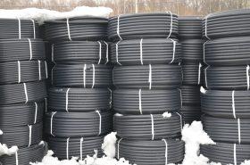 Трубы ПНД вода диаметр 20мм в бухтах