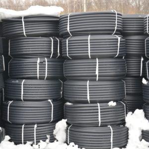 Трубы ПНД вода диаметр 32мм в бухтах стенка 2.4мм