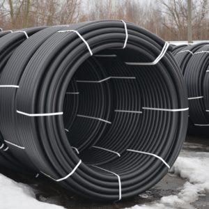 Трубы ПНД вода диаметр 50мм в бухтах стенка 4.6мм