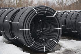 Трубы ПНД вода диаметр 50мм в бухтах стенка 3.0мм