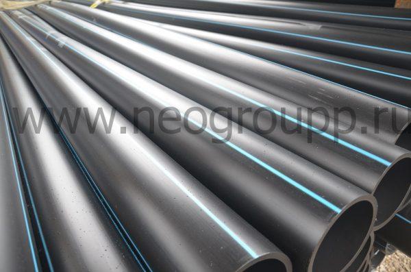 Труба ПЭ100 125(7.1) SDR17.6