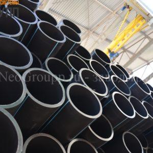 Труба ПНД 160 (7,7) вода отрезки ПЭ100 SDR21 от завода НеоГрупп