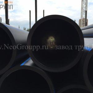 Труба ПНД 110 (5,3) вода отрезки ПЭ100 SDR21 от завода НеоГрупп