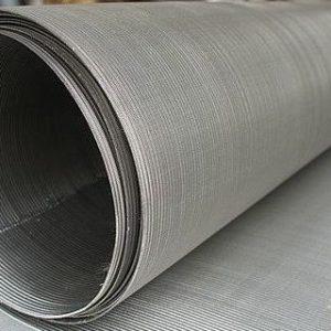 Нержавеющая сетка галунного плетения П48 для фильтра на скважину