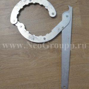 усиленный ключ для обсадной трубы 125мм от НЕОГРУПП