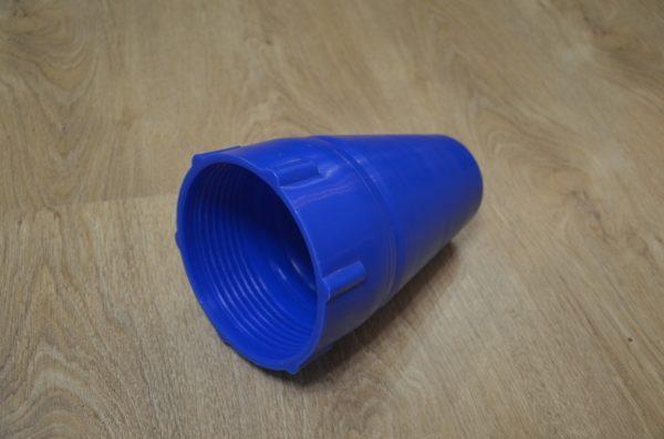 Заглушка конусная 125 (нПВХ) с резьбой