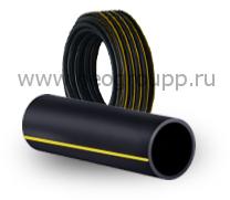 Труба ПЭ100 110(6.3) SDR17.6 газовая
