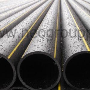 Труба ПЭ100 160(7.7)SDR21 газовая