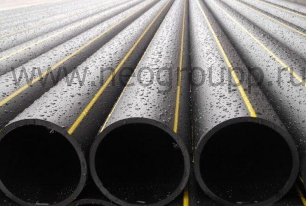 Труба ПЭ100 250(14.2)SDR17.6 газовая