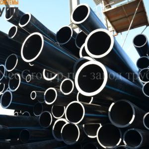 Труба ПНД 315 (18,7) вода отрезки ПЭ100 SDR17 от завода НеоГрупп