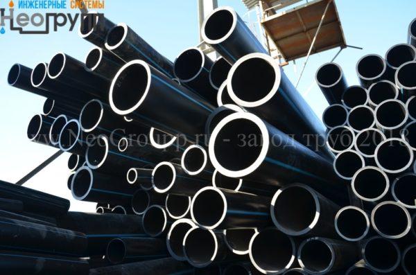 Труба ПНД 315 (23,2) вода отрезки ПЭ100 SDR13.6 с завода НеоГрупп