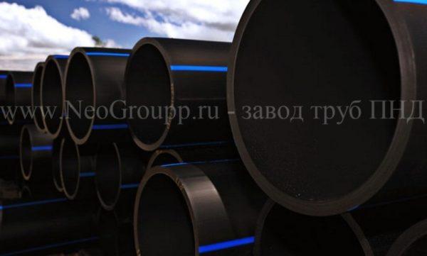 Труба ПЭ100 D630 (57.2) SDR 11 питьевая
