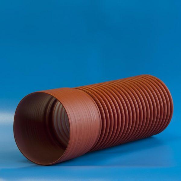 Трубы с раструбом для наружной канализации и прокладки кабеля
