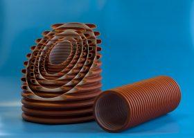 Трубы без раструба для дренажных систем 120˚ 3 отверстия (MP)