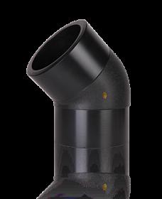Отвод литой 45° (спигот) SDR 11, SDR17