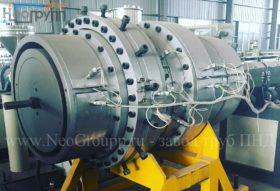 Завод, производство полиэтиленовых труб ПНД