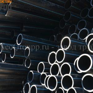 Труба ПНД 200 (7,7) вода отрезки ПЭ100 SDR26 от завода НеоГрупп
