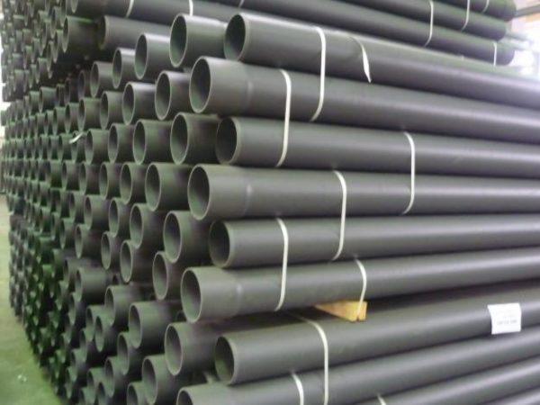 Напорные трубы нПВХ клеевые D12мм.