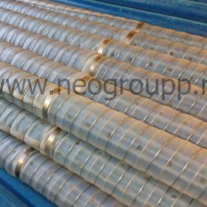 фильтр нПВХ90(5.0) 3000мм с полимерной сеткой галунного плетения