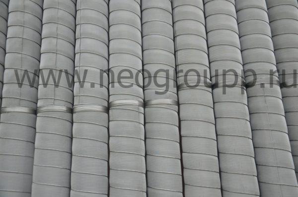 Фильтр ПНД 140-6.7-3000мм. с нержавеющей сеткой
