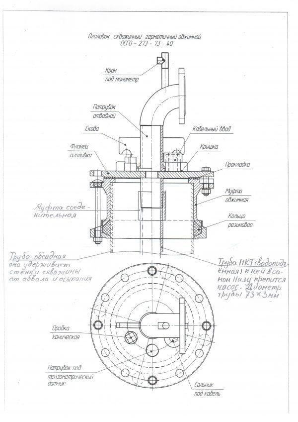 Промышленные оголовки для скважин ОГВ-375.000 (1)