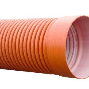 Трубы гофрированные двухслойные ПТК