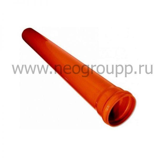 канализационная труба ПВХ 160мм для наружной канализации