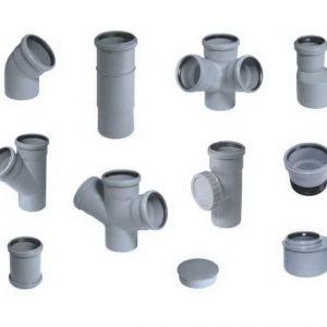 Фитинги для внутренней канализации ПВХ
