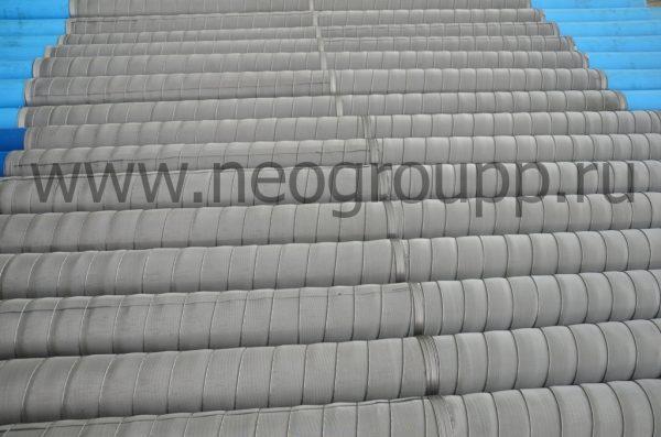 фильтр нПВХ110(4.0, 5.0) 2000мм с нержавеющей сеткой галунного плетения