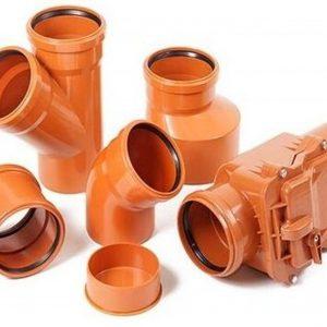 Фитинги для наружной канализации ПВХ