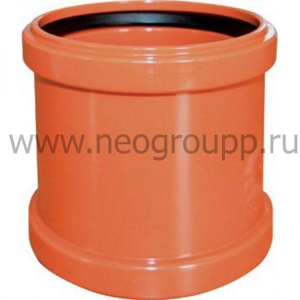 муфта ПВХ надвижная для наружной канализации