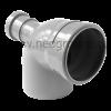 отвод полипропилен 110х50 для внутренней канализации