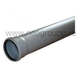 канализационная труба ПВХ 110мм для внутренней канализации