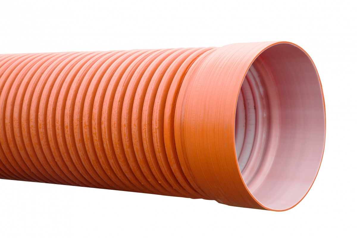 ГофроТруба с раструбом для канализации