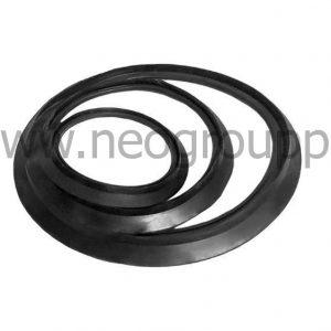 кольцо уплотнительное для двухслойных труб