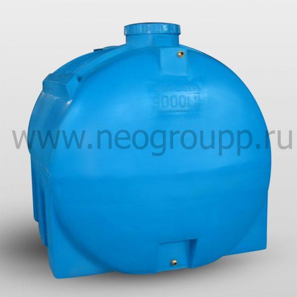 Горизонтальные емкости Aquaplast для воды серии ОГ