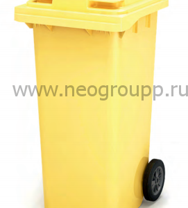 мусорный контейнер 120 литров от компании Неогрупп