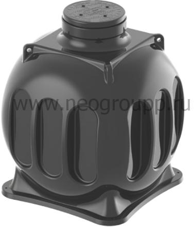 Пластиковый колодец КС-5 для связи
