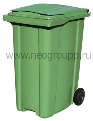 Мусорный контейнер 360л от компании Неогрупп